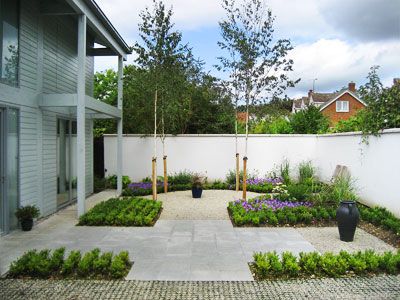 The Garden Design Centre Cambridge. Contemporary Garden Design